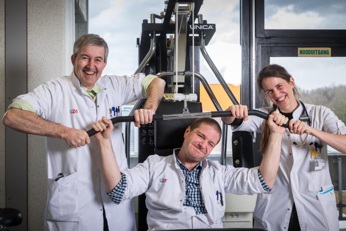 Collega's van het cardiologisch team (2018)