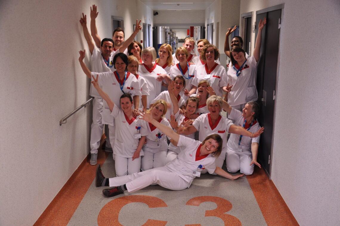 Team verpleegafdeling orthopedie (2014)