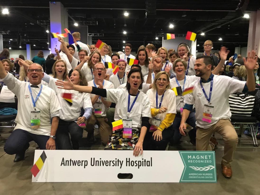 Onze collega's trokken naar Denver voor de ANCC National Magnet Conference™ waar het UZA gevierd werd als eerste Magnet-erkende ziekenhuis in Europa. (2018)