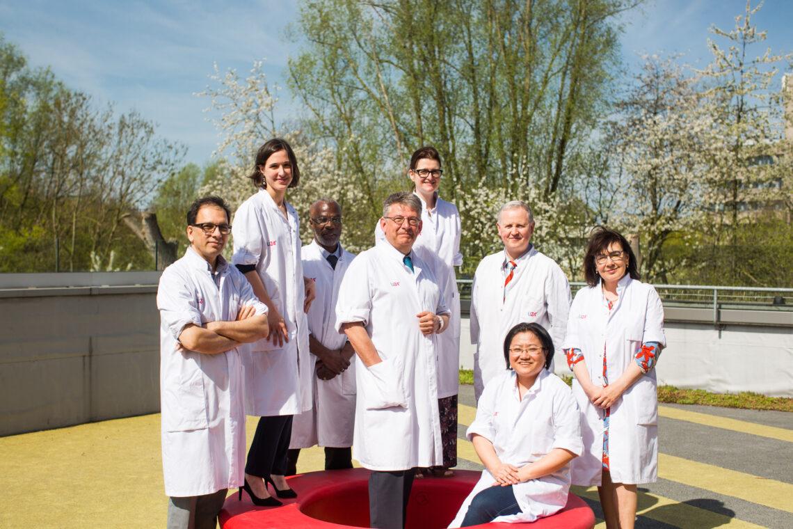 Team pneumologie (2018)