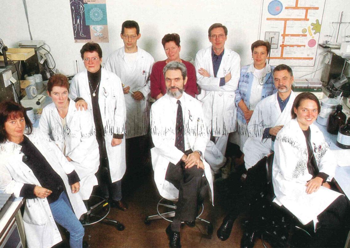 Team nucleaire geneeskunde (1995)
