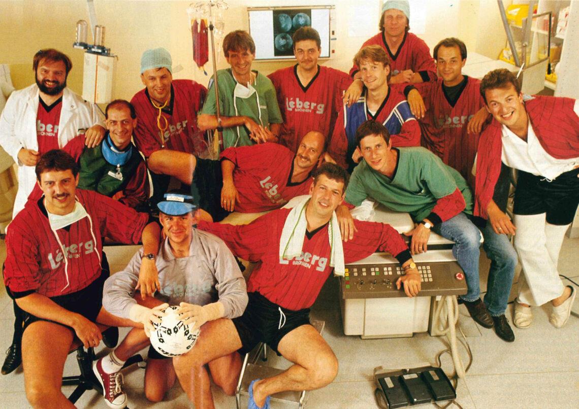 Voetbalploeg van het UZA (1993)